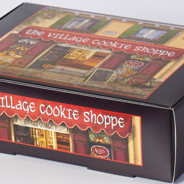 All of our cookies come in our beautiful gift box
